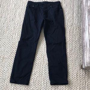 AG Navy Pants